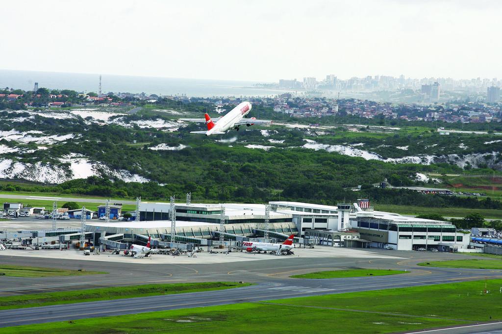 Pista do Aeroporto Internacional de Salvador passará por manutenção