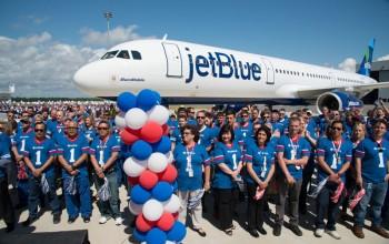 "Airbus entra para a história ao entregar primeira aeronave ""made in USA""; veja fotos"
