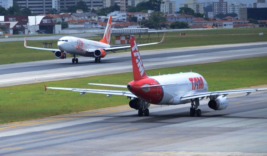 Aeroporto de Congonhas. Imagem: Eric Ribeiro