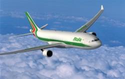 Alitalia bate recorde em voos intercontinentais em agosto