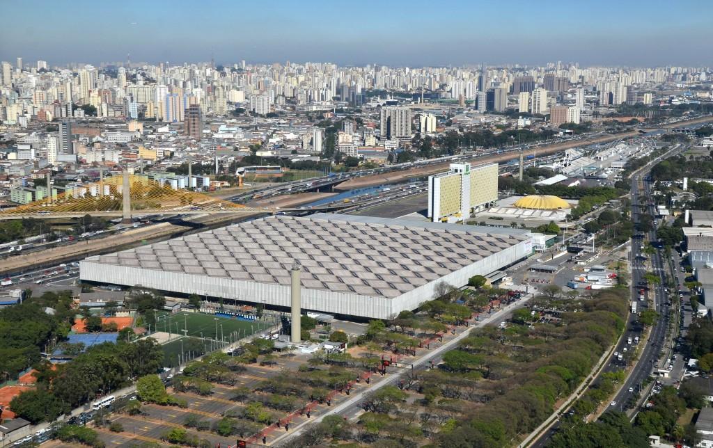 Visão aérea do Anhembi (Foto: José Cordeiro/ SPTuris)
