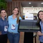 Daniela Nunes, Carla tavares e Themis Godoy, do Ocena Palace