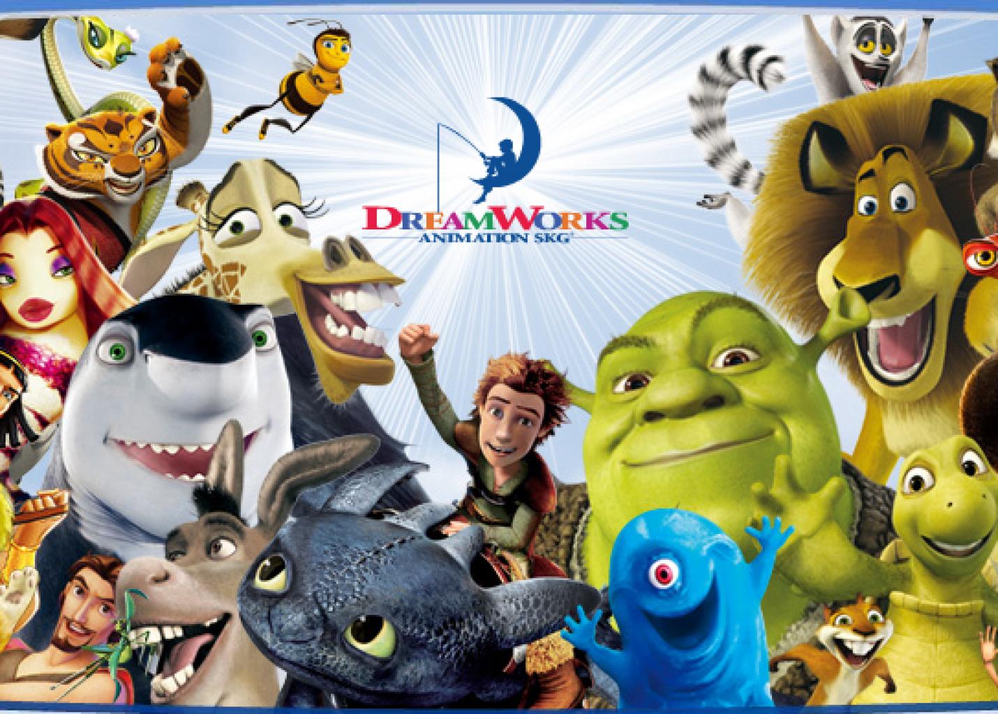 Universal expande leque de atrações e personagens com aquisição da DreamWorks