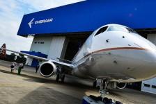 Embraer fechou 2017 com US$18,3 bilhões em pedidos e 210 jatos entregues