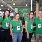 Elaine Carvalho, Erica Silva, Graziela Mello e Marcelo Gusmão, da Localiza