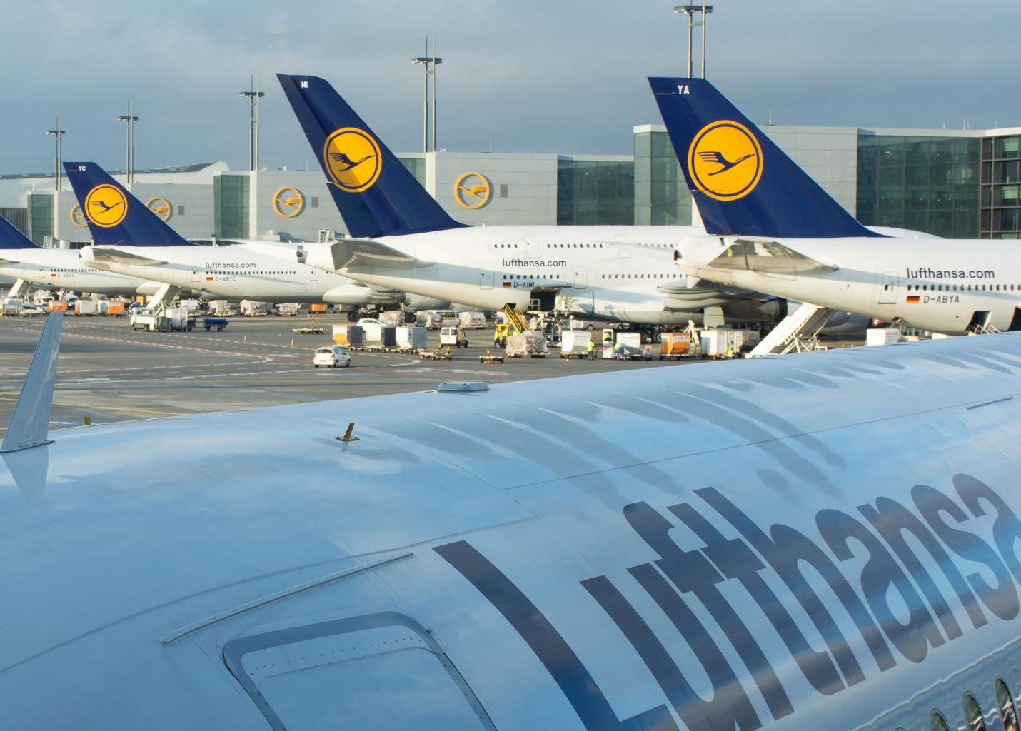 Lufthansa transporta 108 milhões de passageiros em 2015 e lucra € 1,7 bilhão