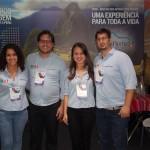 `Michele Lemes, Willian Cavalcante, Mariane Aragão e MArcos Batista, de Machu Picchu