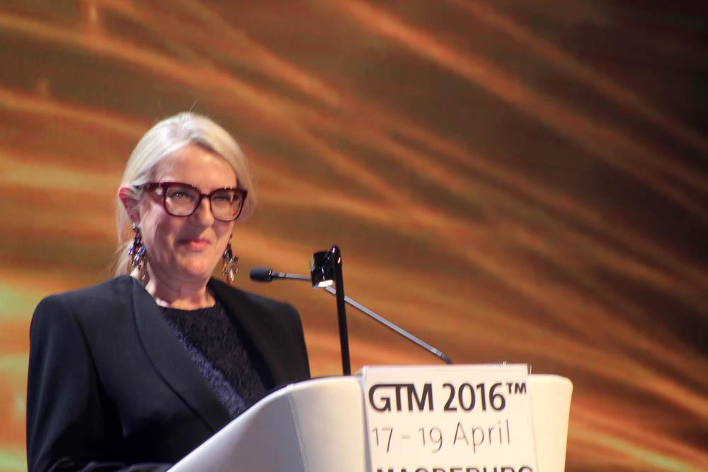 Petra Hedofer,diretora executiva do Germany Nac, Tourism Board