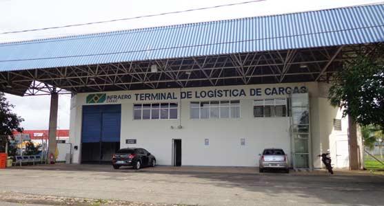 Terminal de carga de São Luís (Foto: Divulgação/Infraero)
