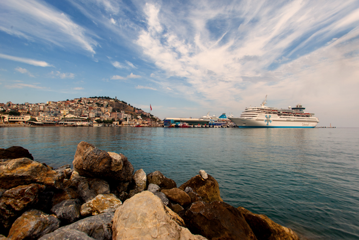 Vista do navio
