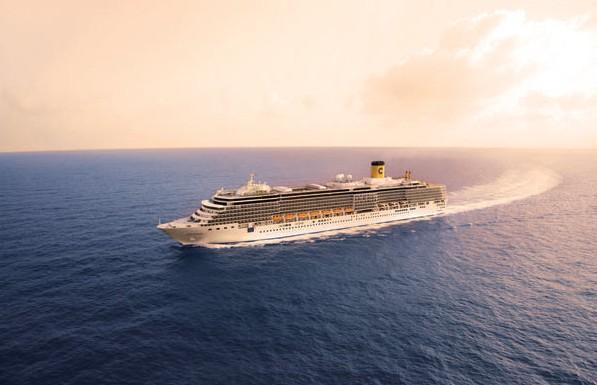 1ª Dançando no Caribe será realizado a bordo do navio Costa Deliziosa (Foto: Divulgação/Costa Cruzeiros)