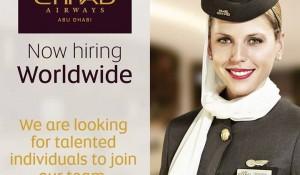 Etihad Airways anuncia 118 vagas de emprego
