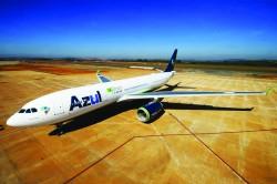 Azul realiza primeiro voo direto para Lisboa nesta quarta (22)