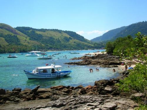 Angra dos Reis (RJ) foi um dos locais mais visitados pelos turistas