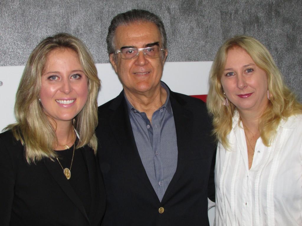 Gabriela Schwan Poltronieri, Marcos Mello e Fabiana Schwan
