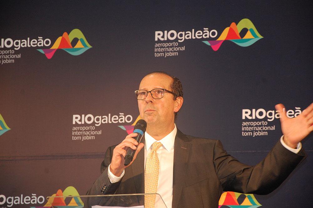Luiz Rocha, presidente do RioGaleão