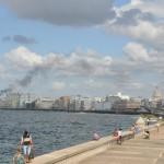 A orla do Malecón
