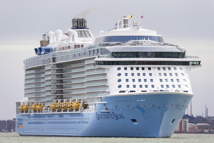 O Ovation of the Seas retornará para Tianjin, na China, para a segunda temporada no destino (Foto: Divulgação)