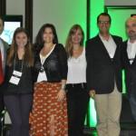 Palestrantes reunidos: Tomás Ramos, Paula Rebouças, Tatiana Costa, Gabriela Otto, Osmar Fonte e Michael Nagy