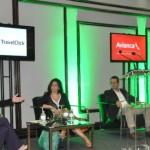 Paula Rebouças, Tatiana Costa, Osmar Fonte e Michael Nagy durante debate no Power Breakfast da HSMAI