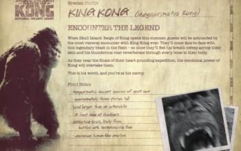 Universal revela mais detalhes da nova atração do King Kong; veja vídeo