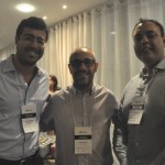 Rodrigo Caamaño (Hotel Regina), Ronnie Carril (Rede Rio Hotéis) e Alejandro Barragan (Expedia)