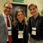 Tomás Ramos (BHG), Carmen Ponte (Rede Windsor) e Thiago Ferrari (BHG)