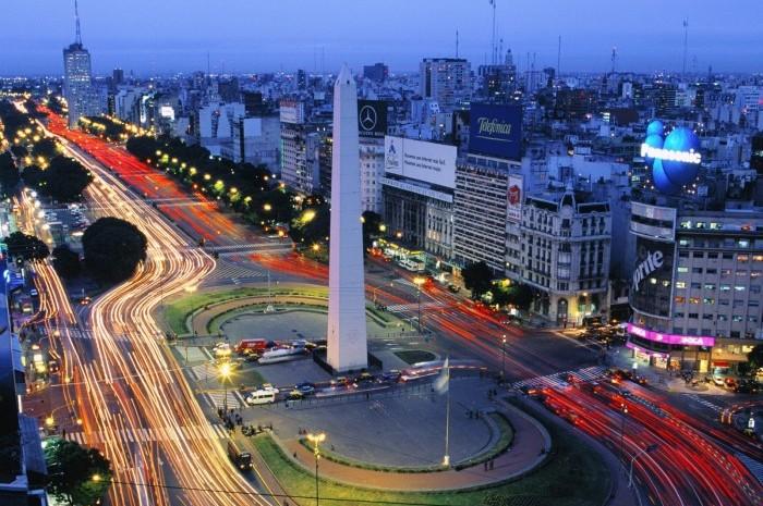 Capital argentina lidera lista de destinos internacionais, seguida por Santiago e Montevidéu