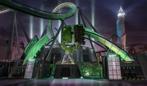 Montanha-russa do Hulk está quase pronta e Universal revela detalhes; veja vídeo
