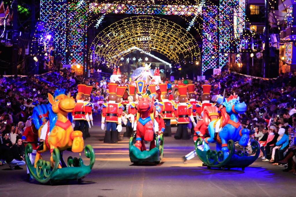 """O evento """"Natal Luz"""", em Gramado. Uma das maiores atrações turísticas da cidade."""