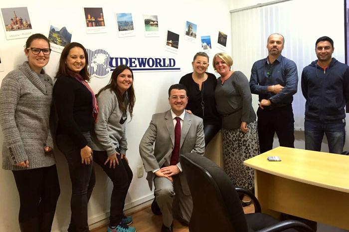Equipe da Uneworld   Foto: divulgação