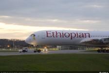 Ethiopian Airlines realiza voo de sua 100ª aeronave