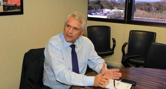 Antônio Claret tomou posse como presidente da Infraero na última sexta-feira (3/6)