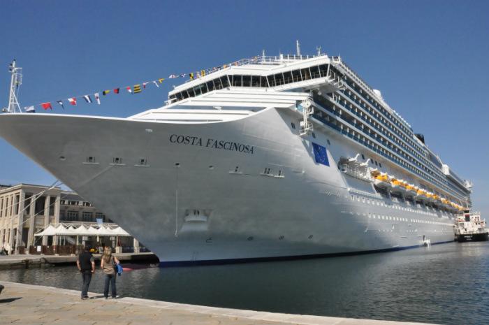Gigante navio Costa Fascinosa receberá primeira edição do Dançando no Mediterrâneo