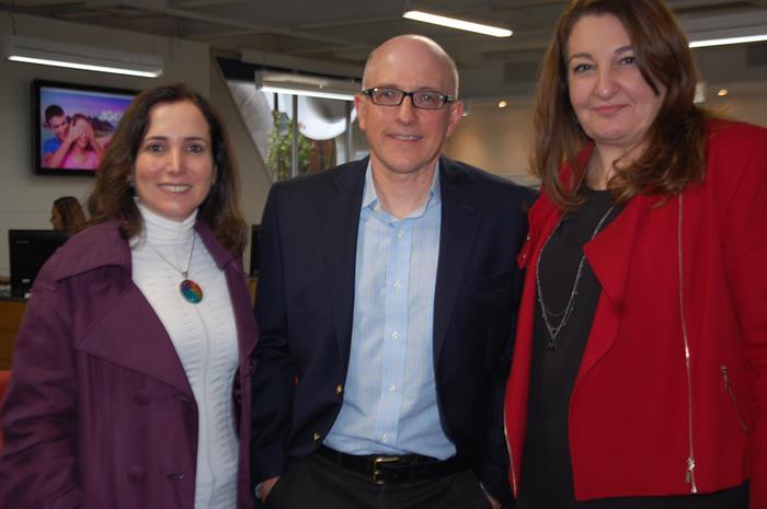 Andréa Leone, Aldo Leone, da Agaxtur e Magda Nassar, mais nova VP de Marketing e Produtos da Operadora