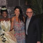 Dessie Dulakis, da Disney, com Aldo Leone, da Agaxtur, e sua esposa Patrícia