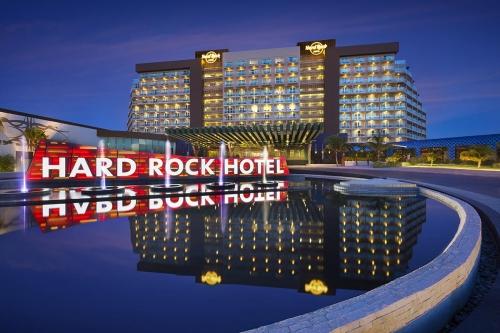 Uma das unidades Hard Rock Hotel pelo mundo