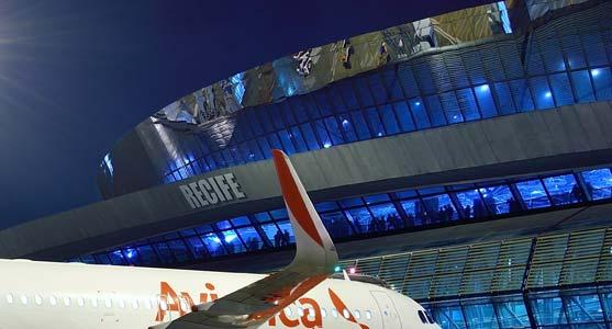 Fachada do Terminal de Recife (Foto: Divulgação/Infraero)