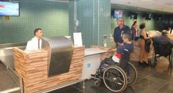 Aeroporto de Manaus realiza simulado de acessibilidade