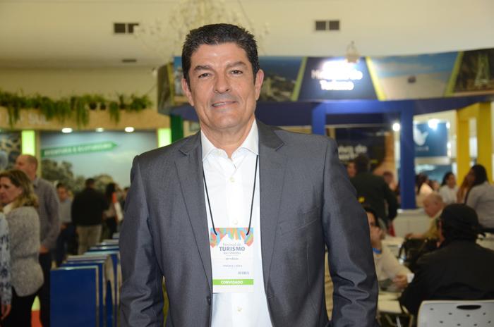Vinicius Lages, do Sebrae visitou o Festival das Cataratas