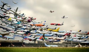 Animação reúne 72 horas de voos comerciais em apenas 13 segundos; veja vídeo