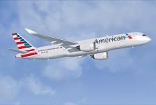 American Airlines adia entrega do 1° A350-900 para 2018