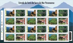 Correios homenageiam Trens da Serra Verde Express