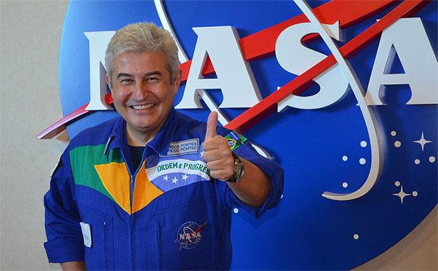 Pontes foi o primeiro astronauta brasileiro a ir ao espaço