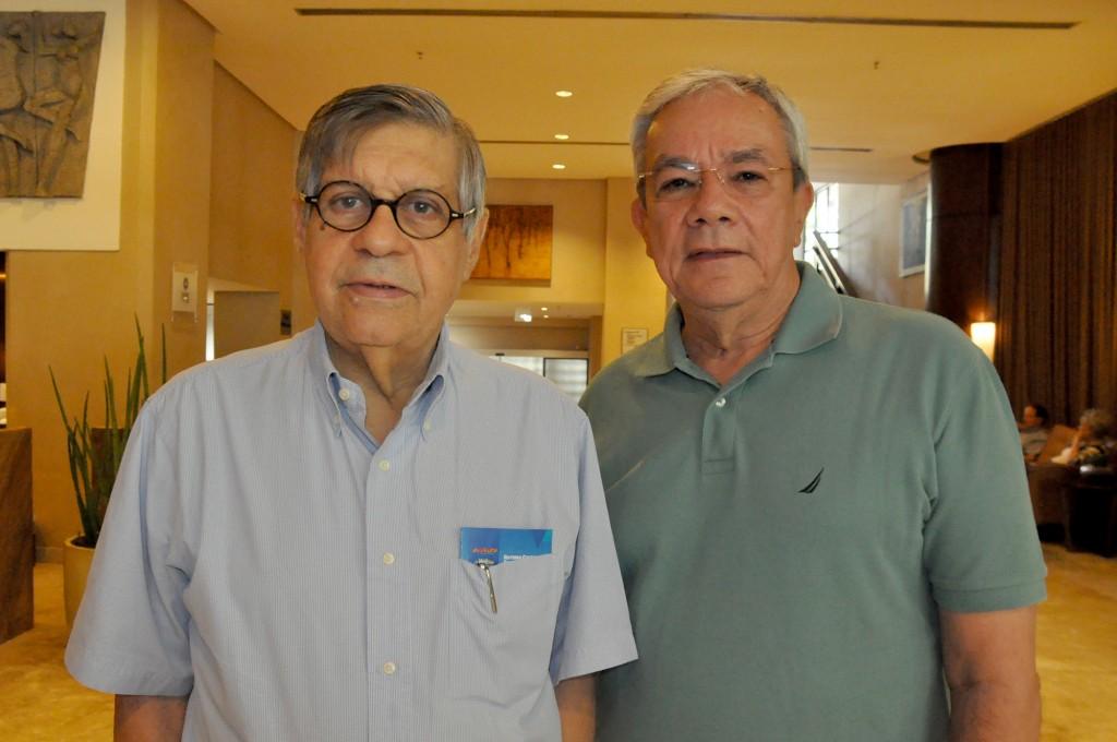 Paulo Gaudenzi, presidente do Salvador Destination, e Érico Pina, secretário de Cultura e Turismo de Salvador