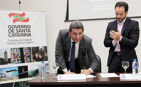Rogério Siqueira, do Beto Carrero, assume Conselho Estadual de Turismo de SC
