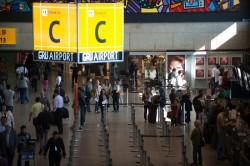 GRU Airport realiza desinfecção de áreas comuns em combate ao coronavírus