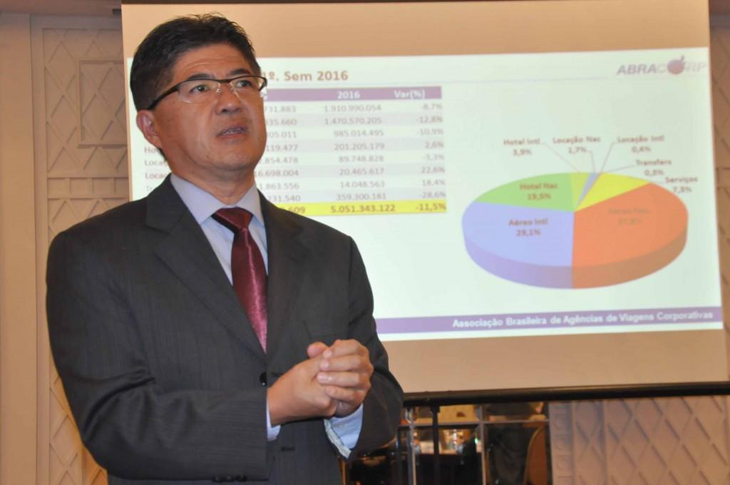 Gervásio Tanabe, diretor-executivo da Abracorp