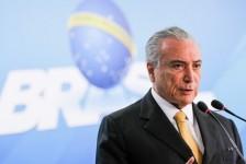 Temer promete contemplar Turismo com R$ 763 milhões em infraestrutura até 2018