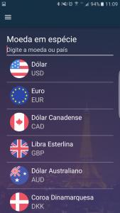 APP_Opções de Moedas